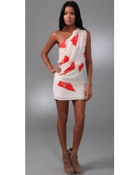 Sass & Bide - White The Two Beat Dress - Lyst