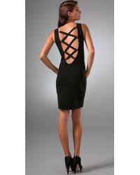 Temperley London - Black Mini Rossellini Dress - Lyst