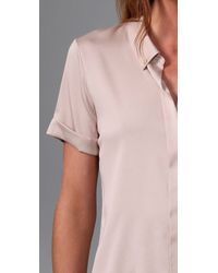 Theory - Pink Trullie Shirt - Lyst