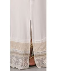 Twelfth Street Cynthia Vincent   White Lace Slip Long Dress   Lyst