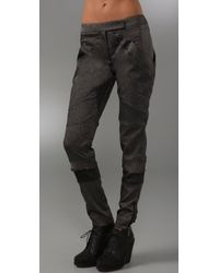 VPL | Black Fragment Pants | Lyst