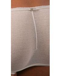 VPL - Natural Cropper Smalls Panties - Lyst