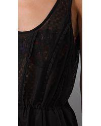 Zimmermann | Black Ebony Rose Frill Jumpsuit | Lyst