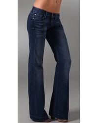 7 For All Mankind | Blue The Slim Trouser Jeans | Lyst