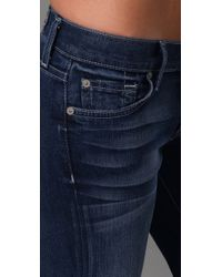 7 For All Mankind - Blue The Slim Trouser Jeans - Lyst