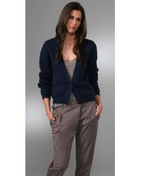 American Vintage | Blue Big Sky Country Cardigan | Lyst