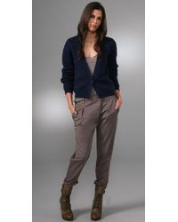 American Vintage - Blue Big Sky Country Cardigan - Lyst