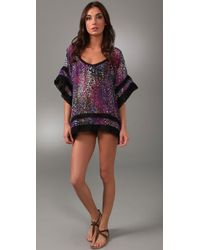 Brette Sandler Swimwear | Purple Kelly Tunic Cover Up | Lyst