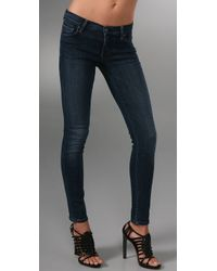 Citizens of Humanity | Blue Avedon Slick Skinny Legging Jeans | Lyst