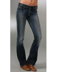 Citizens of Humanity | Blue Dita Petite Boot Cut Jeans | Lyst