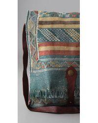 DANNIJO | Blue Moroccan Messenger Bag | Lyst
