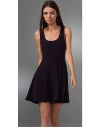 Free People - Black Pin Dot Dress - Lyst