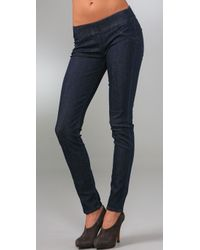 Hudson Jeans | Blue Pull On Skinny Jeans | Lyst