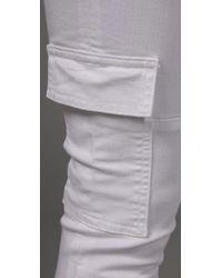 Hudson Jeans - White Linus Cargo Skinny - Lyst