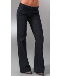 J Brand - Blue Bell Bottom Trouser Jeans - Lyst