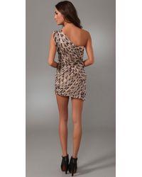 Kirrily Johnston - Brown Apocalypto Gathered Dress - Lyst