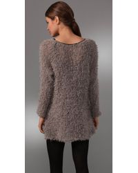Leyendecker - Brown Rush Sweater Tunic - Lyst