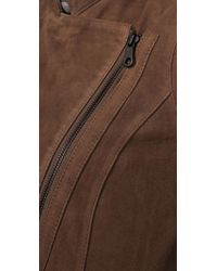 Madewell - Brown Flutter Suede Jacket - Lyst