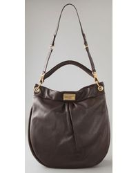 Marc By Marc Jacobs   Brown Classic Q Huge Hillier Hobo   Lyst
