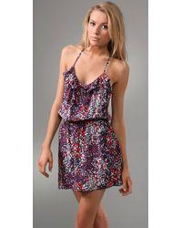 Parker - Blue Floral Cami Dress - Lyst