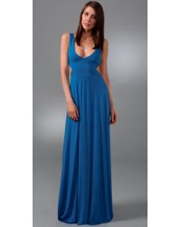 Rachel Pally | Blue Long Cutout Dress | Lyst