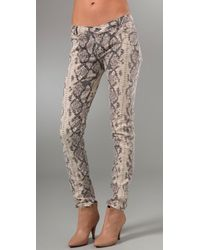Rebecca Minkoff | Multicolor Python Skinny Jeans | Lyst