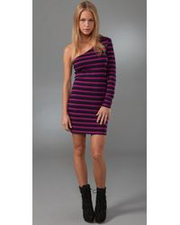 Torn By Ronny Kobo | Purple Olivia Mini Dress | Lyst
