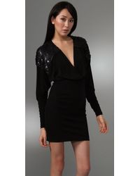 Twelfth Street Cynthia Vincent - Black Cross Front Dress - Lyst