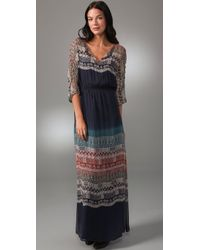 Twelfth Street Cynthia Vincent | Blue Long Ombre Dress | Lyst
