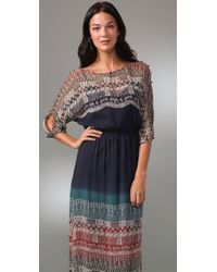 Twelfth Street Cynthia Vincent - Blue Long Ombre Dress - Lyst
