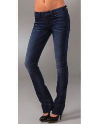 William Rast | Blue Sadie Straight Leg Jeans | Lyst