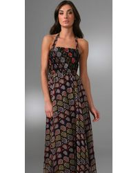 Winter Kate - Black Victoire Long Dress - Lyst