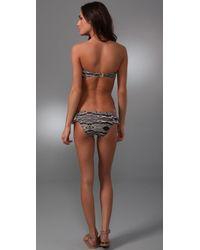 Zimmermann - White Ebony Rose Frill Bikini - Lyst
