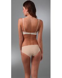 Calvin Klein | Natural Perfectly Fit Satin Sculpt Balconette Bra | Lyst