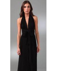 Kiki de Montparnasse - Black Pleated Jumpsuit - Lyst