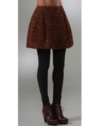 Nanette Lepore | Brown Caterina Skirt | Lyst