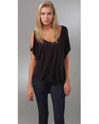 Tigerlily | Black Folkloric Top | Lyst