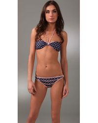 Camilla & Marc | Blue Bon Bon Bandeau Bikini | Lyst