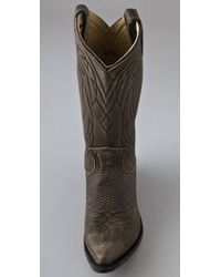 Frye | Gray Billy Pull On Boots | Lyst