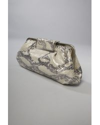 Annabel Ingall | Multicolor Magic Snake Clutch in Silver | Lyst