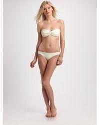 Cali Dreaming | White Two-piece Bandeau Bikini | Lyst