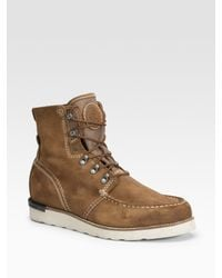 DIESEL | Brown Builder Boots for Men | Lyst