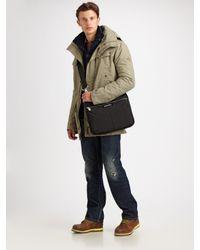 DIESEL | Natural Canvas Utility Jacket for Men | Lyst