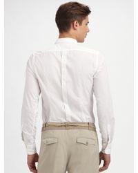 Dolce & Gabbana | White Tuxedo Shirt for Men | Lyst