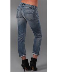 Goldsign - Blue His Jean Boyfriend Jeans - Lyst