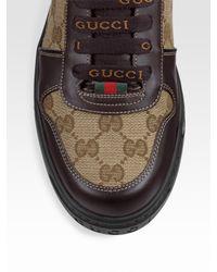 Gucci - Brown Sneaker for Men - Lyst