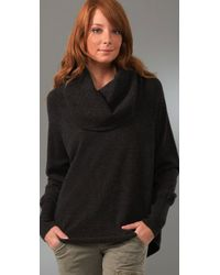 Joie - Gray Wesley Cowl Neck Sweater - Lyst
