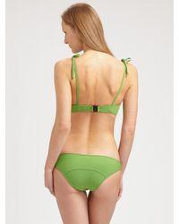 Lisa Marie Fernandez | Green Tied Two-piece Bikini | Lyst