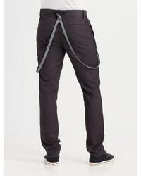 Mackage - Black Leather Bomber for Men - Lyst