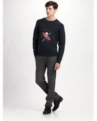 Marc By Marc Jacobs | Black Inuit Wool/cashmere Sweater for Men | Lyst